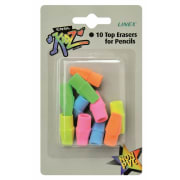 Viskelær Linex blyanttopper 10pk
