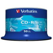 CD-R Verbatim 700MB 52x spindel 50pk