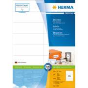 Etikett HERMA A4 105x37mm (100)