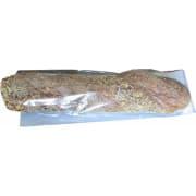 Baguettepose 35cm hvit m/cellofan