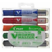 Whiteboardpenn Pilot V-Board M 5pk