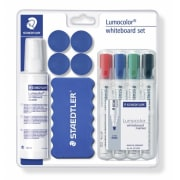 Whiteboard start kit Staedtler Lumocolor