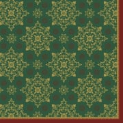 Serv. Dunilin 40cm Xmas Deco Green