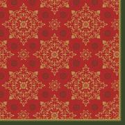 Serv.Dunilin 48cm Xmas Deco Red