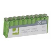 Batteri Q-Connect alkalisk LR03/AAA 1.5V