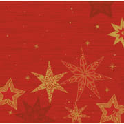 Serv. Dunisoft 40cm Star Stories Red