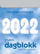 Dagblokk liten 5.3x7.1cm 2021