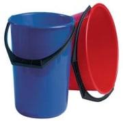 Bøtte plast 10l rund blå