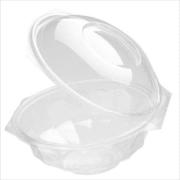 Salatskål RPET 500ml m/lokk