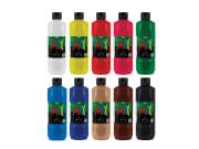 Greenspot Tempera Mix - 10 farger 500ml
