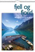 Fjell og fjord veggkalender 2022