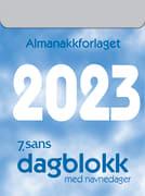 Dagblokk liten 5.3x7.1cm 2022