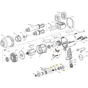 Ingeroll Rand Inlet Parts Kit til muttertrekker 2145 og 2155
