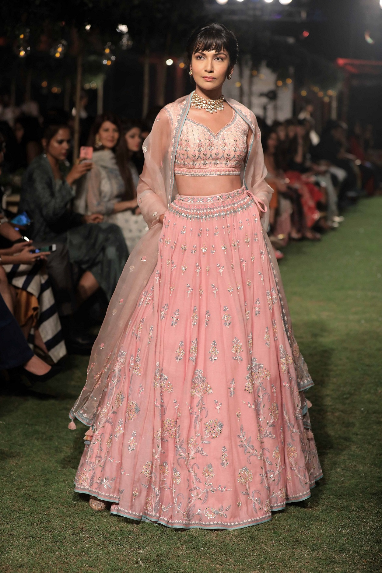 Image result for Anita Dongre Songs of Summer 2018 bridal lehengas