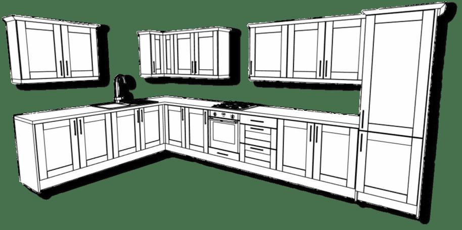 Shaker Kitchen Example