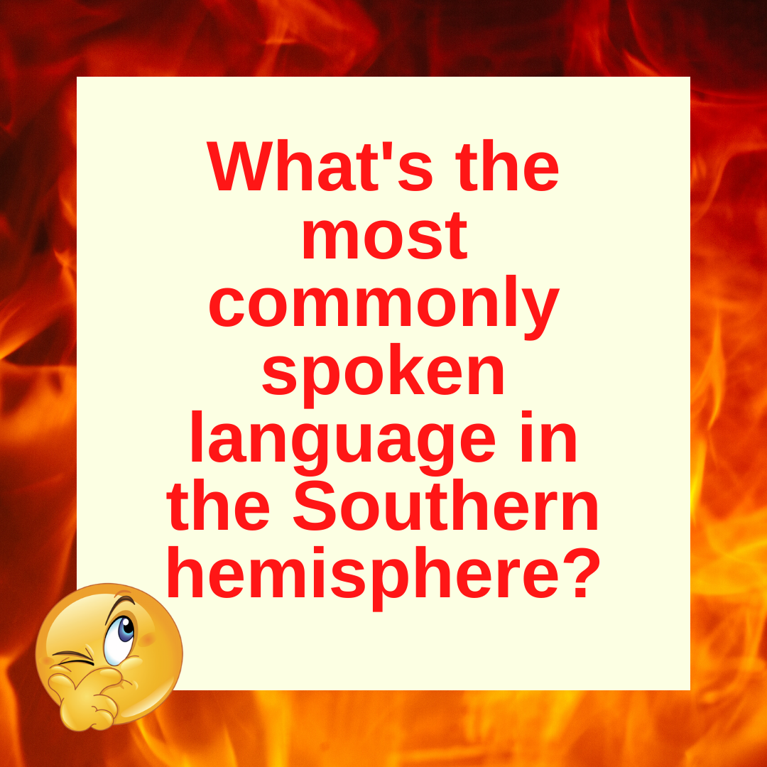Question of the Day | The Most Common Language Down South