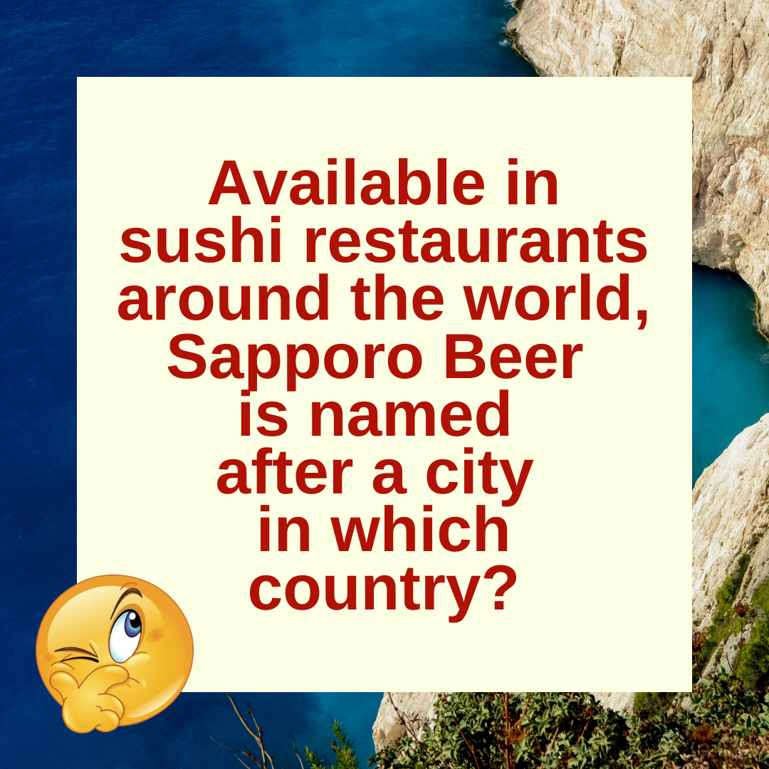 Sapporo: A Beer and A City