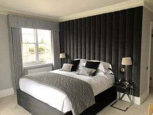 Services - Made to Measure Curtains, Electric Blinds, Bespoke Headboards, Bed Wall Tiles