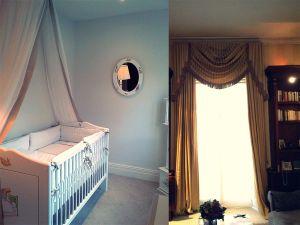 Blackout Curtains, Curtain Poles Material Concepts Battersea, London-24