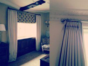 Blackout Curtains, Curtain Poles - Material Concepts Battersea