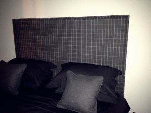 Upholstered Nailhead Headboards Material Concepts, Battersea