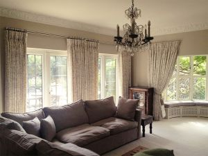 Blackout Curtains, Curtain Poles Material Concepts Battersea, London-1