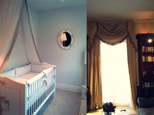 Blackout Curtains, Curtain Poles Material Concepts Battersea, London-24