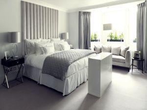 Silver White Headboard - Material Concepts Battersea