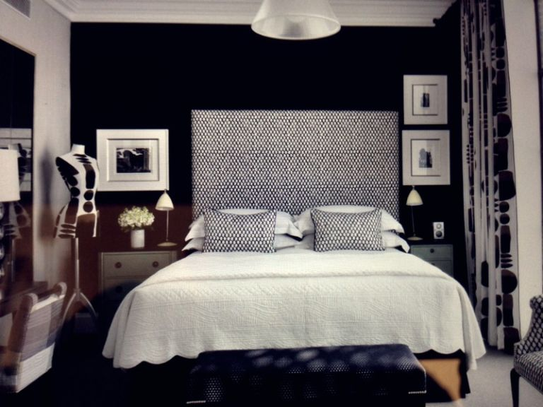 Black White Room Decoration Material Concepts