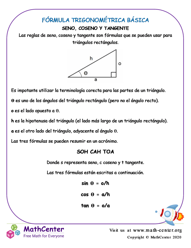 Fórmula Trigonométrica Básica