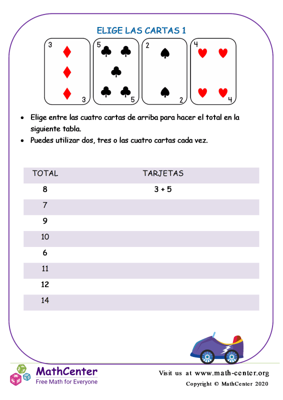 Elige Las Cartas 1