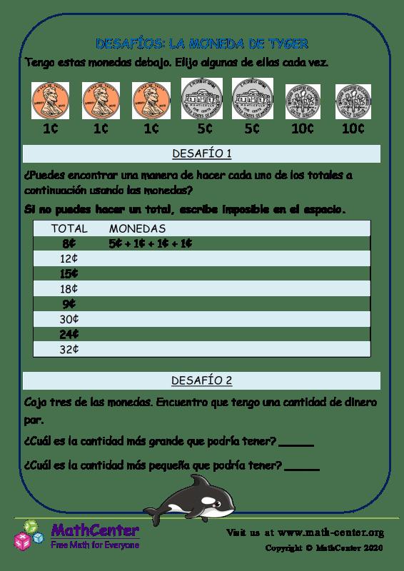 Desafíos: La Moneda De Tyger