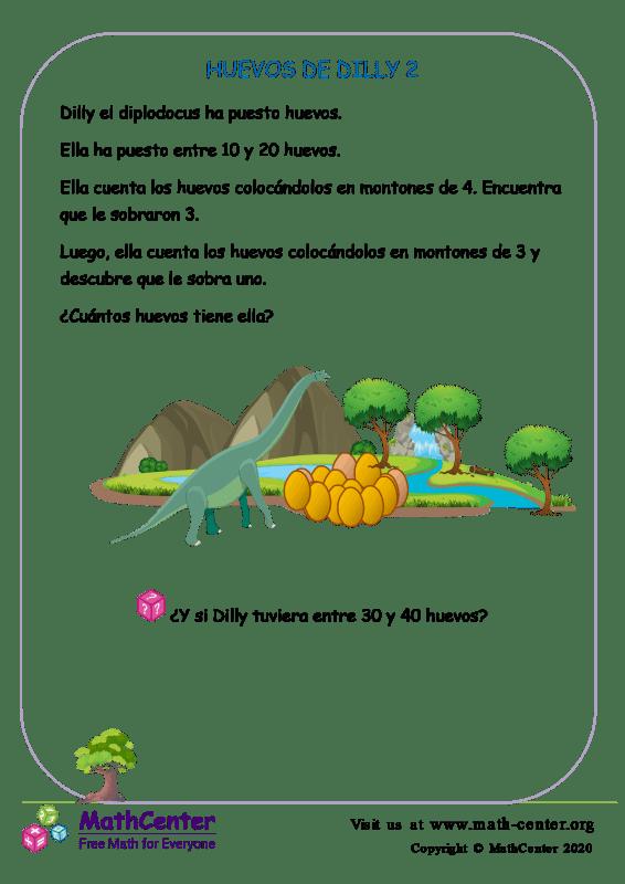 Desafío: Los huevos de Dilly 2