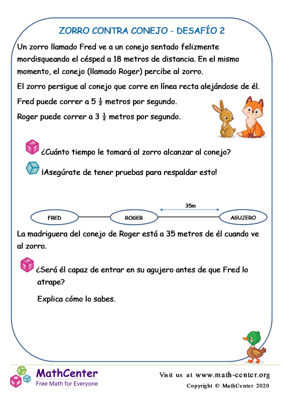Zorro Contra Conejo Desafío 2