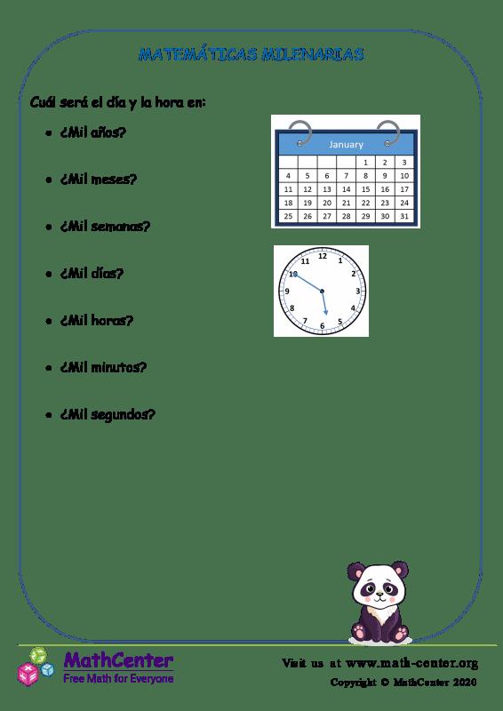 Matemáticas Milenarias
