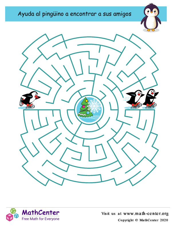 Laberinto de pingüinos