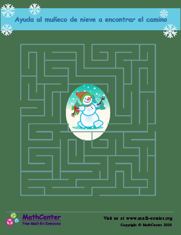 Laberinto del muñeco de nieve