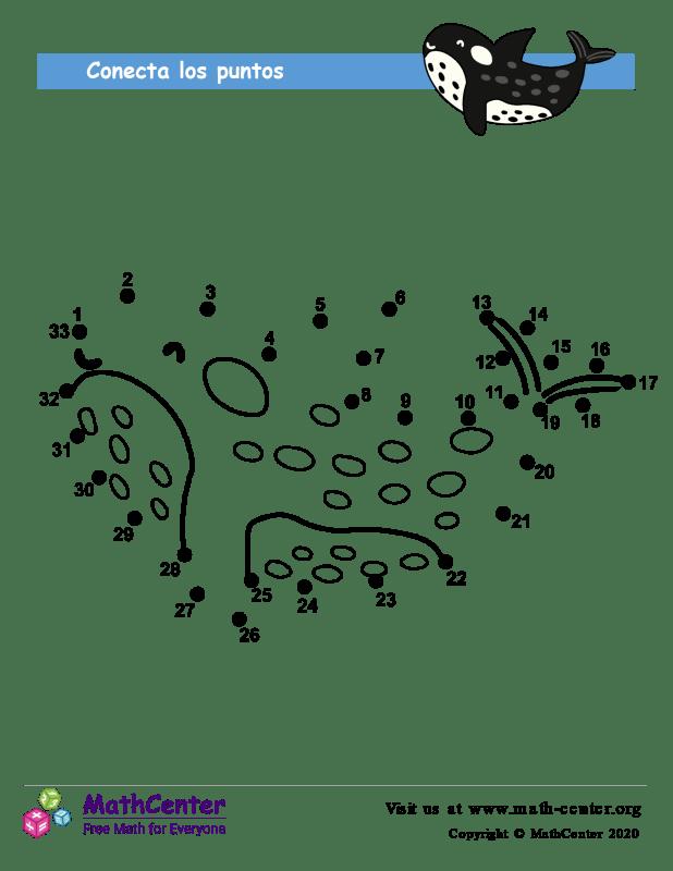 Unir Los Puntos De La Ballena 33
