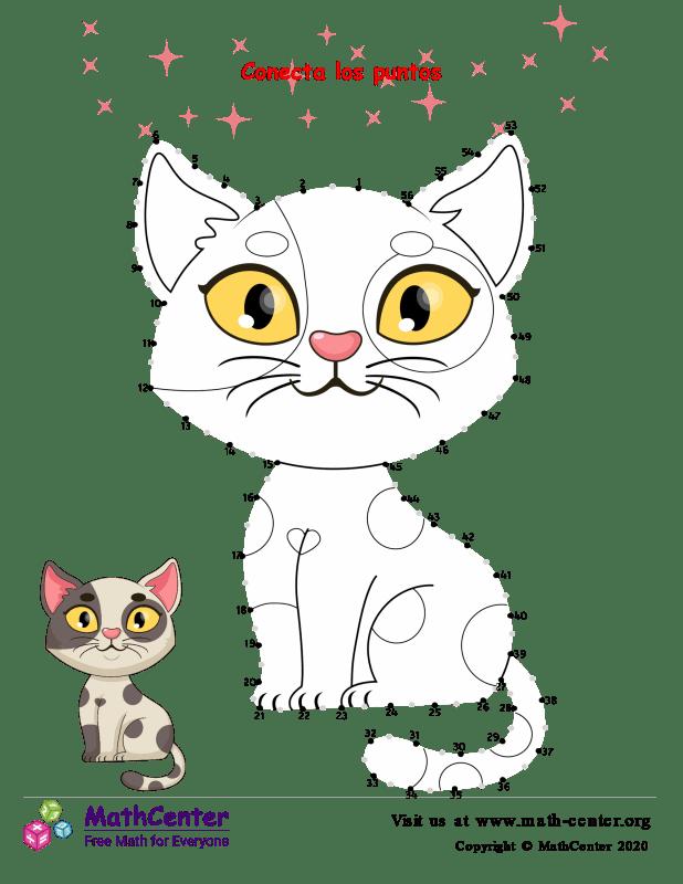 Conecta los puntos Hasta 2 - Gato N° 56