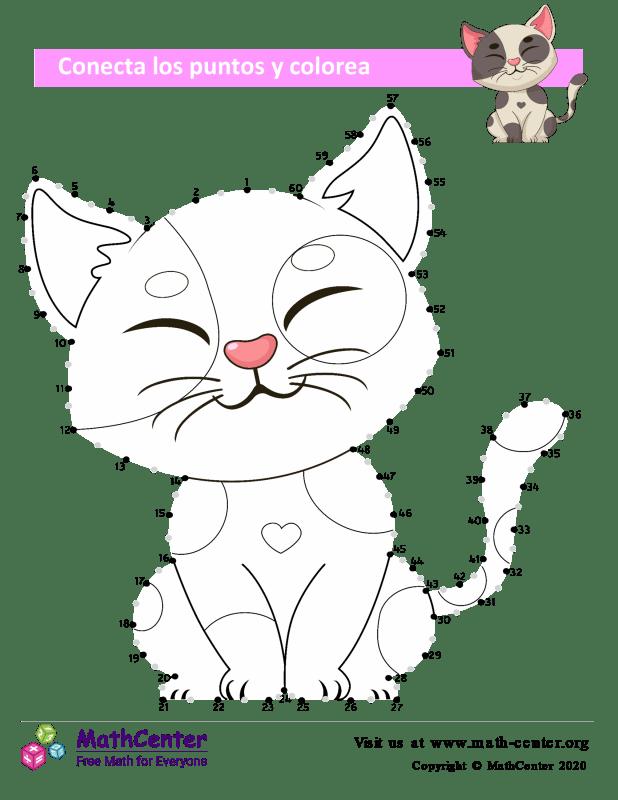 Conecta los puntos Hasta 60 - Gato