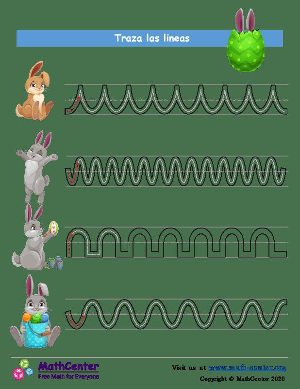 Líneas de rastreo de Pascua