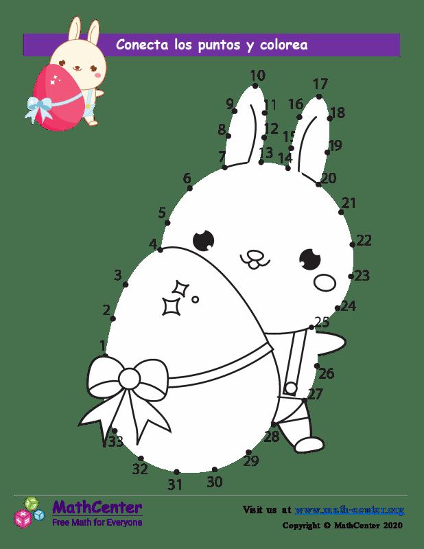 Conecta los puntos Hasta 33 - Pascua