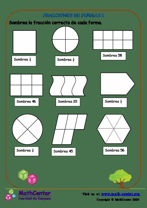 Fracciones De Formas 1