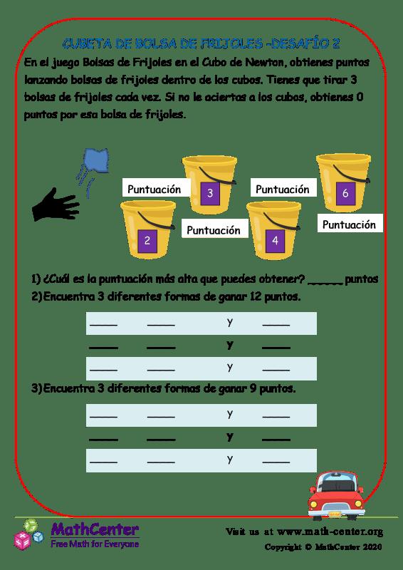 Cubeta De Bolsa De Frijoles -Desafío 2
