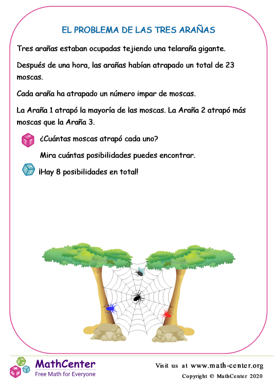 El Problema De Las Tres Arañas