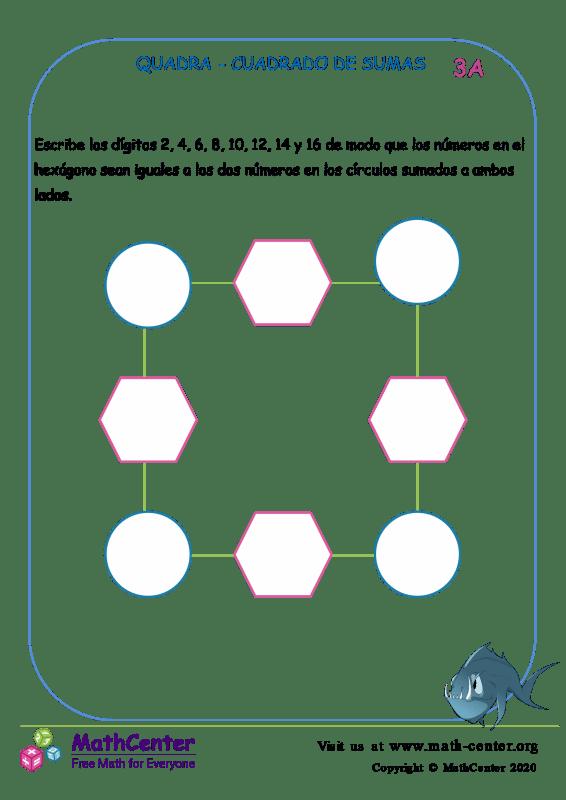 Quadra - Cuadrado De Sumas 3A