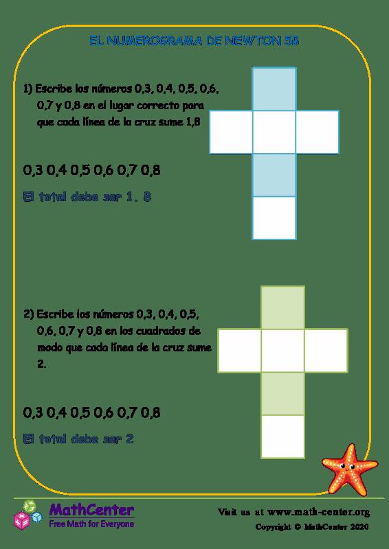 El Numerograma De Newton 5B