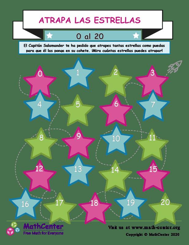 Attrapa Las Estrellas 0 Hasta 20