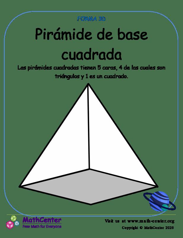 Pirámide De Base Cuadrada