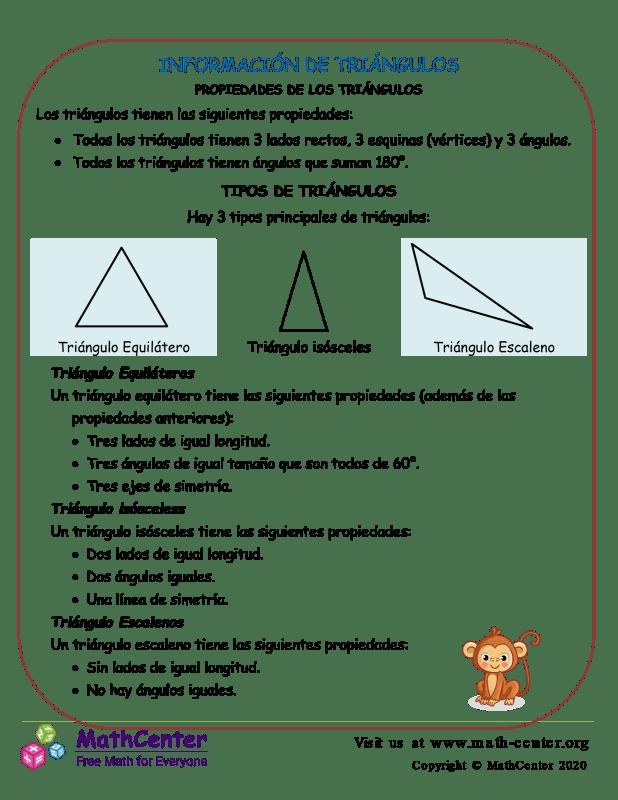 Información De Triángulos